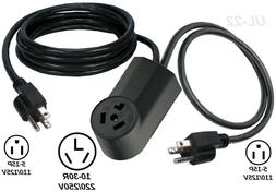 110/125V To 220/250V Dryer Power Connector Electrical Adapte
