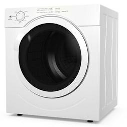 1500W Electric Tumble Compact Laundry Dryer 3.21 Cu. Ft. up