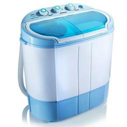 Pyle 2 in 1 Mini Top Load Washing Machine and Spin Dryer Uni