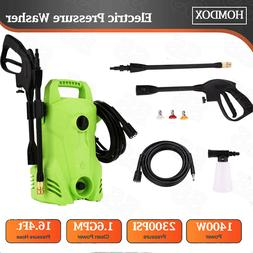 Homdox 2300PSI 1.6GPM 1400W Pressure Washer Cold Water Clean