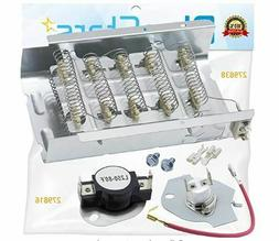 279838 & 279816 Dryer Heating Element With Dryer Thermal Cut