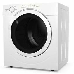 27lbs Electric Tumble Compact Laundry Dryer Stainless Steel