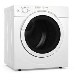 3.21 Cu. Ft. Electric Tumble Compact Laundry Dryer Stainless