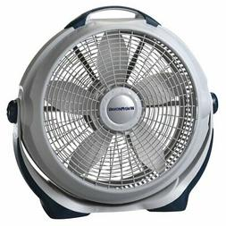 "New Lasko 3300 Powerful Wind Machine 20"" 3 Speed Gray High V"