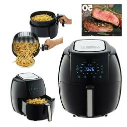 GoWISE USA 5.8-QT Programmable 8-in-1 Air Fryer XL + 50 Reci
