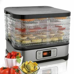 5-Tiers Electric Food Dehydrator Machine Beef Jerky,Fruits,V