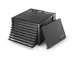 Black Electric Dryer 9 Tray Inserts Food Dehydrator Hassle F