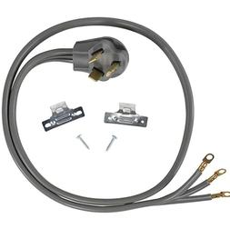 Certified Electric Dryer Cord 3 Wire 30 amp 4 Ft Model 90-10