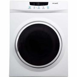 compact electric dryer machine clothes laundry counter