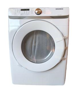 Samsung DVE45T6000W Front-Loading Electric Dryer - White