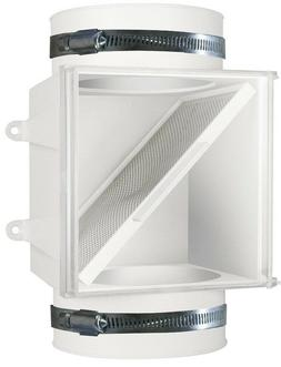 Electric Clothes Dryer Duct Lint Trap Assembly Fits 4in Duct