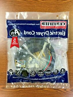 Certified Appliance Accessories Electric Dryer Cord Model 90