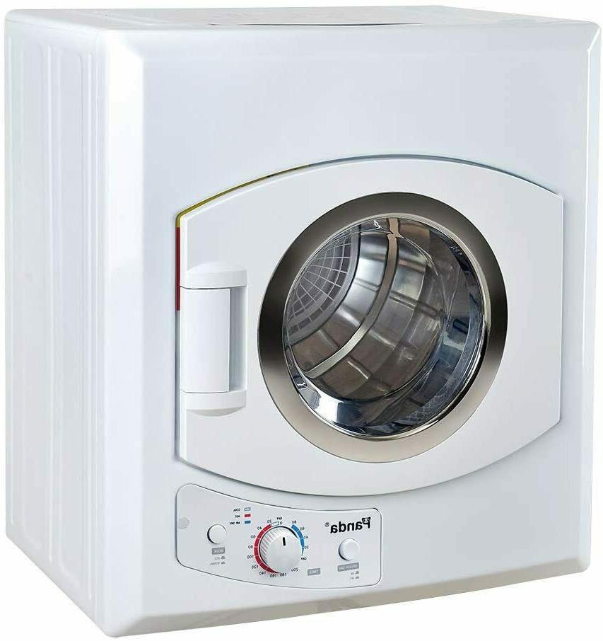 2 6 cu ft compact laundry dryer