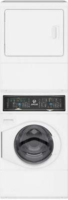 """Speed Queen 27"""" WHT Time Remaining Display Electric Laundry"""
