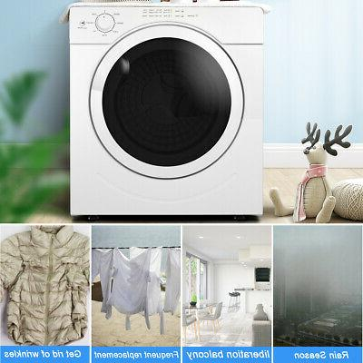 27lbs Electric Tumble Laundry Dryer Stainless 3.21
