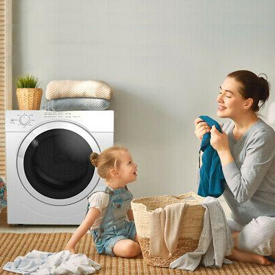 3.21 Ft. Electric Tumble Laundry Stainless Dorm