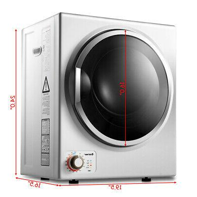 Compact Electric Tumble Dryer 1.5 .ft.