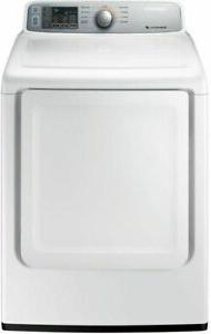 Samsung - 7.4 Cu. Ft. 9-cycle Electric Dryer - White