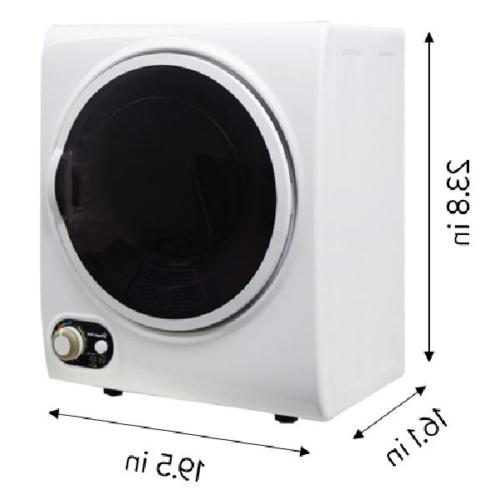 Compact Dryer Clothes Portable Electric Small Laundry Machine NEW